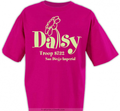 custom t shirt design daisy girl scouts