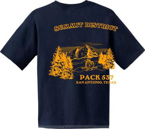Custom t shirt design cub scout pack 537 san antonio tx for Custom t shirts san antonio tx
