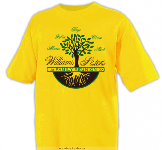 Tree and Roots T-shirt Design