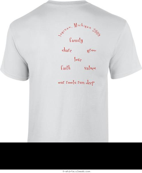 Custom t shirt design austin newbern family reunion for Custom t shirts for family reunion