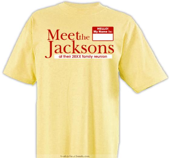 Meet the Family T-shirt Design