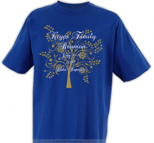 custom t shirt design tree family reunion
