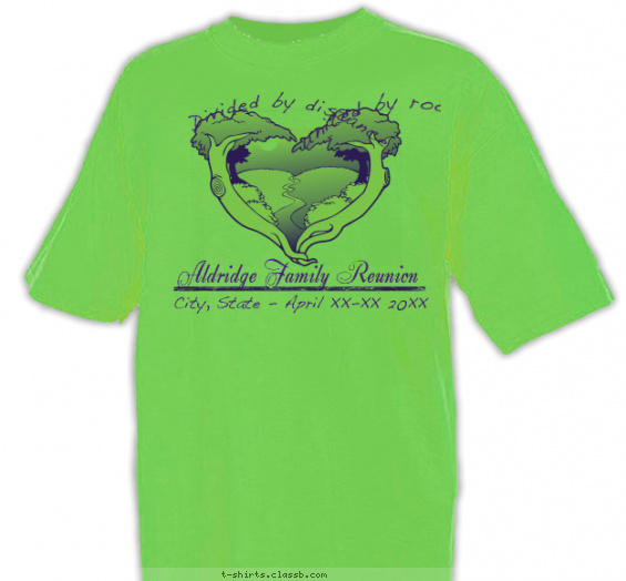 A Family Tree of Hearts Shirt T-shirt Design