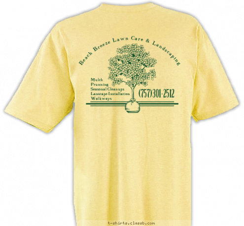 Custom t shirt design 258352 for Lawn care t shirt designs