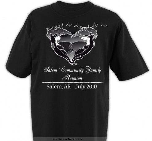 custom t shirt design salem family reunion t shirts