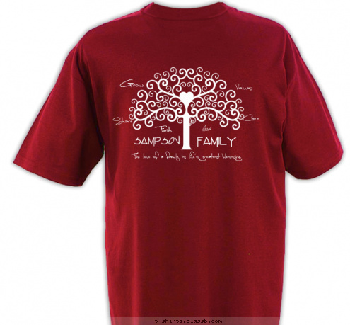custom t shirt design chestnut family reunion 2012