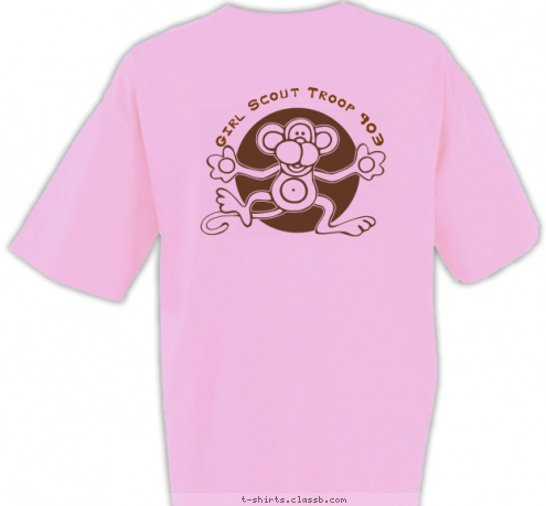 Custom t shirt design girl scout troop 903 shirt Girl t shirts design