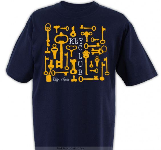 Key Maze Shirt T-shirt Design