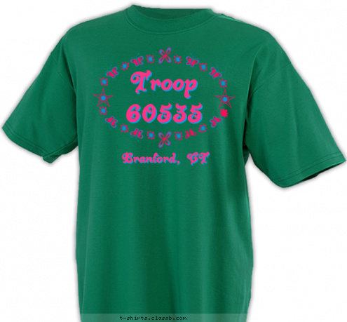 custom t shirt design girl scout choice 3
